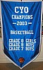 St. Agnes Athletic Champion Banner